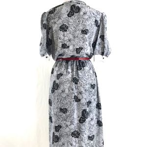 Vintage Dresses - Vintage 80's Dress Office Work Made in USA